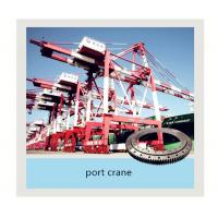 Buy cheap Slewing Bearing used on port crane, Xuzhou Zhongya Engineering Machinery slewing ring from wholesalers