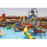 Wholesale Small Colorful Water Playground Equipment Enclosed Slide For Kids And Water Park from china suppliers