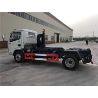 China 4 Ton-5 Ton Hooklift Arm Waste Removal Trucks Garbage Container Pulling Dongfeng for sale