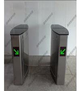Quality Metro 1.2 Miles 304 Stainless Steel Speed Gates  Pedestrian Turnstile for sale