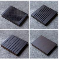 China 18mm Thickness Bamboo Wood Panels Charcoal Surface Treatment For Outdoor Decking on sale