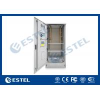 China Outdoor Power Cabinet / Battery Enclosure / IP55 19inch Rack Base Station Enclosure for sale