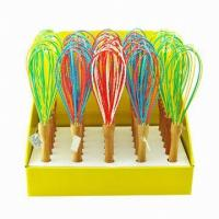 Wholesale silicone egg beater kitchenware ,food grade silicone egg whisks from china suppliers