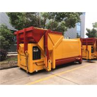 China 10CBM To 15CBM Garbage Collection Compactor Station For Garbage Transportation for sale