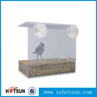 Quality Wholesale 2016 Custom Hanging Bird Water Feeder,Grateful Gnome Window Brid for sale