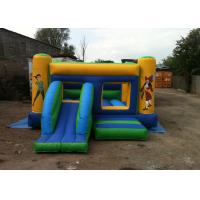 Wholesale Pirate Inflatable Bouncers / Pirate Combo Bounce House with Slide Hire from china suppliers