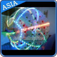 China Led Lighting 2.5m 1.0mm Tpu Zorb Ball For Kids With Ce Certificated for sale