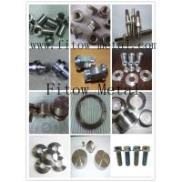 Quality Uns R56400 W.nr 3.7165 Grade 5 Precision custom Grade 5 Ti parts for sale