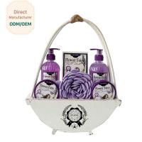 Travel Home Spa Gift Set 24.5*5.5*15 Personal Bath Cleaning OEM Service for sale