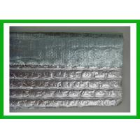 China Silver Bubble Reflective Foil Insulation With Woven Fabric Roof Insulation on sale
