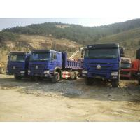 Wholesale Blue Heavy Duty Dump Truck 6x4 371hp , 20 Ton Tipper Truck Wheel Base 3825 + 1350mm from china suppliers