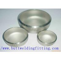A403 WP304 / 304L WP316 / 316L WP321 Stainless Steel Pipe Cap ISO9001 / ISO9000 for sale