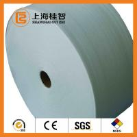 China 60GSM White 100% Bamboo Spunbond Non Woven Fabric Good Water Penentration on sale