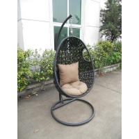 Wholesale High-end quality outdoor indoor garden wicker rattan swing seats from china suppliers