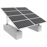 Wholesale Solar Photovoltaic RV Solar Mounting Systems , 0-60 Degree Solar Panel Roof Mounting Kits from china suppliers