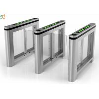 Wholesale Servo Motor Swing Barrier Gate,Glass Arm 900mm Width Turnstile Systems from china suppliers