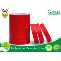 Wholesale Quality product Red crepe paper Maksing Tape For Automotive painting decoration 75mm Width from china suppliers
