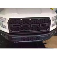 Wholesale Ford Raptor F150 2015 2017 Steel Front Bumper and Front Grille with Light from china suppliers