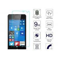 Buy cheap Microsoft Lumia 650 Anti Fingerprint Screen Protector Blue 2.5 D Toughened Glass from Wholesalers