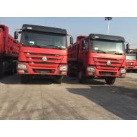 Wholesale Professional Heavy Duty Dump Truck ZF8098 GERMANY Steering Two Sleepers Sinotruck Howo from china suppliers