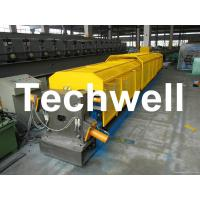 Wholesale 7.5Kw 20 Forming Station Custom Downpipe Roll Forming Machine For Rainwater Downpipe from china suppliers