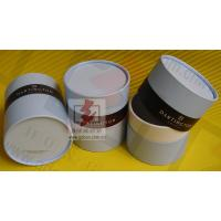 Quality Customized Food Packaging Tubes , Chocolate Paper Tube Containers for sale