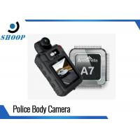 Quality Infrared HD Night Vision Body Camera , Small Police Body Worn Cameras for sale