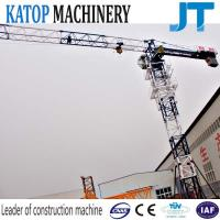Wholesale Topless tower crane TC5010 flat top tower crane with 5t load capacity from china suppliers