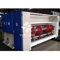 China China YIKE Chain Type Corrugated Cardboard Two Color Printing Slotting Combined Machine on sale