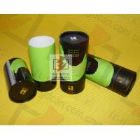 Herbal tea storage container tube packaging round gift