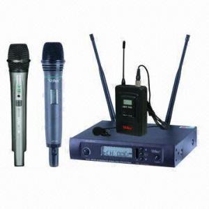 1x100 Channel PLL UHF Wireless Microphone System with 100dB Dynamic Range