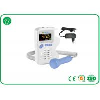 China 1bpm FHR Resolution Baby Heartbeat Doppler For Home / Clinic / Hospital on sale