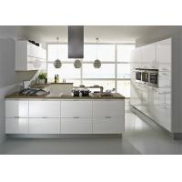 Wholesale Modern High Gloss Lacquer MDF Kitchen Cabinets With White Quartz Stone from china suppliers