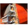 6063 T5 / T8 Heat Treatment Aluminium Extrusion Profiles U Channel Shape for sale