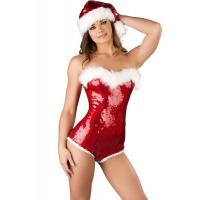 Wholesale Sequin Adult Christmas Costumes Decoration Hat Sweet Sassy Cute from china suppliers