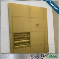 Wholesale High Strength Copper Composite Panel Brushed Mirror Bacteriostatic Decoration from china suppliers
