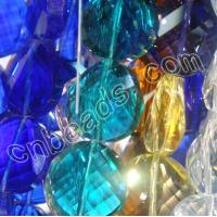 China round cut Chinese crystal beads wholesale from China beads factory on sale