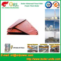 Quality Natural Gas Boiler Water Wall Panels Boiler Spare Part ASME Standard for sale