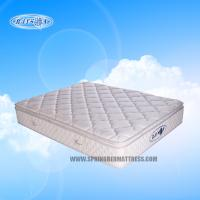 Anti bacterial Latex Bonnell Pillow Top Mattress Topper