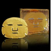 China gold collagen facial mask, Collagen Gold Crystal Facial Mask ,Golden Collagen Face Mask on sale