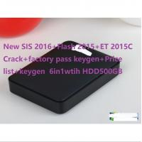 Wholesale New SIS 1-2016+Flash 2015+ET 2015C Crack+factory pass keygen+Price list+keygen 6in1wtih HDD500GB for cat from china suppliers