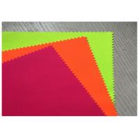 China Thin Fluorescent Orange Fabric Cotton Woven Twill 32X21 For Suit Clothing on sale