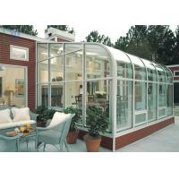 Quality Residential Housing Aluminium Glass Greenhouse Double Glazing Architeched Design for sale