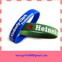 global selling latex free silicone rubber bracelet for sale