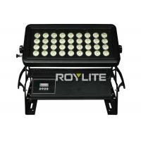 Quality IP65 water resistant LED Wall Washer Lights With 36 x 10w RGBW LEDs , Beam angle for sale