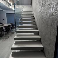 Wholesale Modern Floating stair / Glass Staircase / Build Floating Staircase from china suppliers