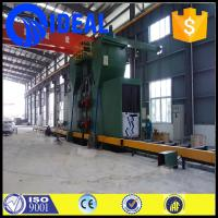 heavy duty green color shot blasting machine with environmental dust collector