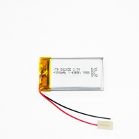 Wholesale 380mAh 3.7 V Lithium Ion Polymer Battery Within 1C Rate from china suppliers
