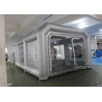 China Environmental Mini Blow Up Spray Booth For Car Cover / Automotive Paint Booth on sale