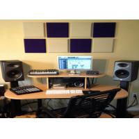 Quality Colorful Sound Absorbing Panel Polyester Acoustic Panels Thickness 9mm for sale